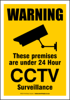 Print your own CCTV signs