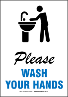 Please Wash Hands