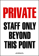 Private - Staff Only